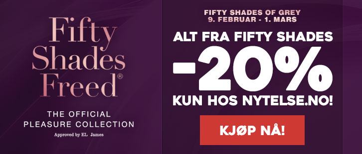 Spar 20% på Fifty Shades of Grey