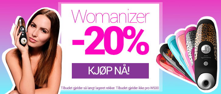 Spar 20% på Womanizer!