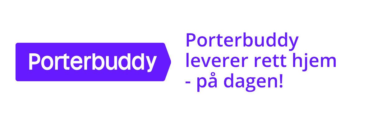 Få pakken hjem på døren samme dag med Porterbuddy