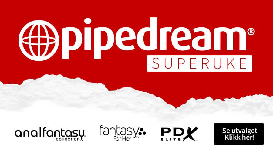 Superuke med Pipedream - spennende sexleketøy for han, henne og par!