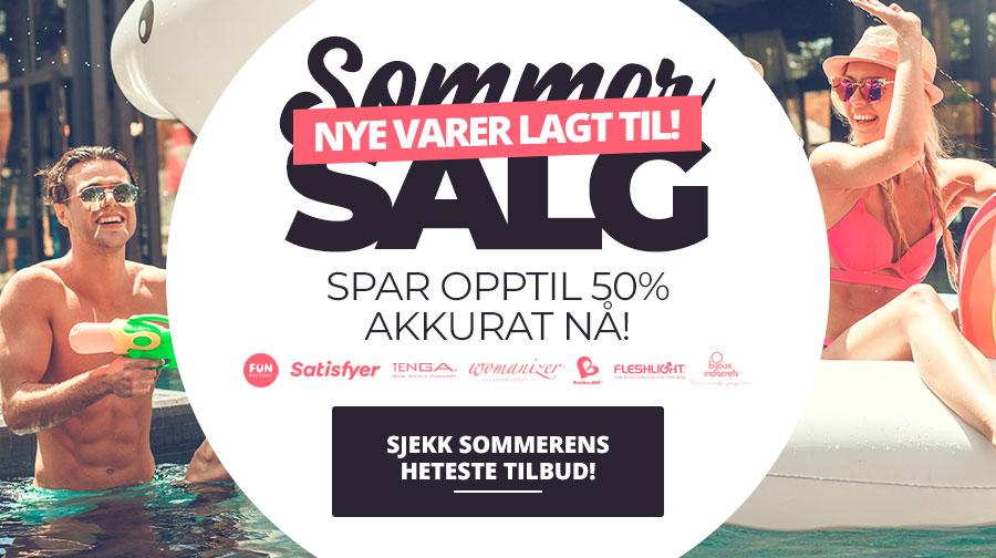 Spar opptil 50% på sommerens heteste sexleketøy i det store sommersalget - nye varer lagt til!