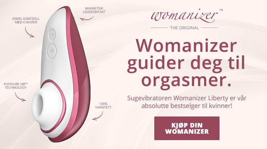 Womanizer Liberty gir deg utsøkt nytelse med kontaktløs stimulering!